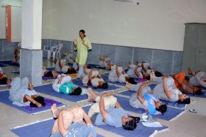 amritayoga.com_Yoga Talks_Amrita Corporate Yoga & Therapeutics at BHEL, EDN Bangalore